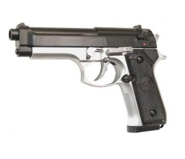 Beretta M-92 Black/Silver