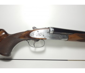 Escopeta Bernard con dos cañones